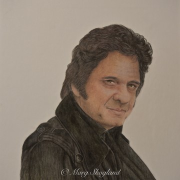Johnny Cash – fan art